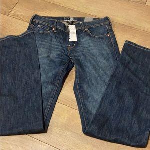 NY&Company flare platinum stretch jeans